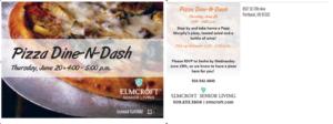 Pizza Dine-N-Dash @ Elmcroft of Sellwood