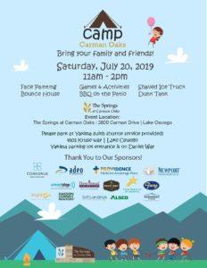 Summer Camp at Carman Oaks @ The Springs at Carman Oaks