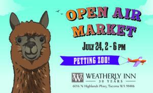 Open Air Market @ Weatherly Inn