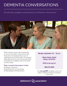 Dementia Conversations @ Albany Senior Center