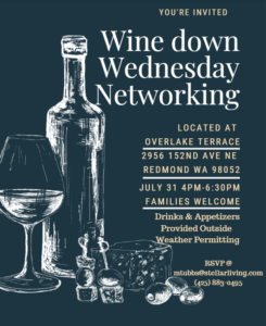 Wine Down Wednesday @ Overlake Terrace