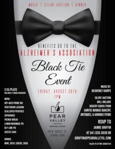 Black Tie Event @ Pear Valley Senior Living