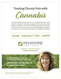 Treating Chronic Pain with Cannabis @ Fieldstone Cornell Landing