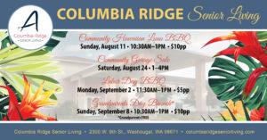 Community Garage Sale @ Columbia Ridge Senior Living