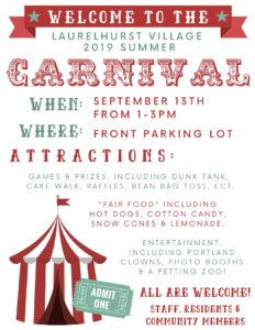 Laurelhurst Village Summer Carnival @ Laurelhurst Village