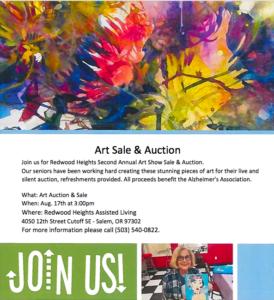 Art Sale & Auction @ Redwood Heights Art Sale & Auction
