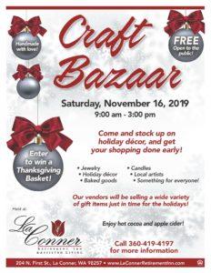 Craft Bazaar @ La Conner Retirement Inn