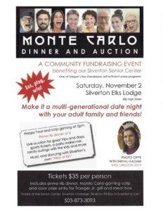 Monte Carlo Dinner & Auction @ Silverton Elks Lodge #2210