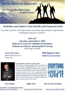 Redefine and Achieve Your Health and Financial Goals @ Tualatin Public Library