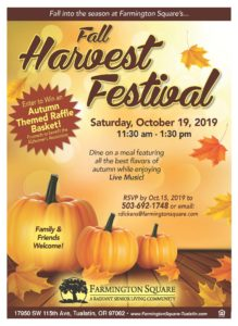 Fall Harvest Festival @ Farmington Square Tualatin