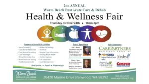 2nd Annual Health & Wellness Fair @ Warm Beach Post Acute Care & Rehab