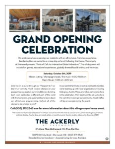Grand Opening Celebration at The Ackerly at Sherwood @ The Ackerly at Sherwood