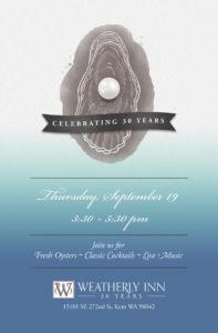30th Anniversary Celebration @ Weatherly Inn