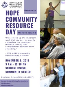 2019 HOPE Community Resource Day @ Stroum Jewish Community Center