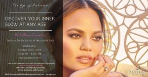 The Age of Radiance: Find your inner glow at any age! @ Solstice Senior Living at Normandy Park