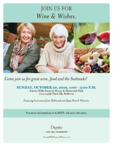Wine & Wishes @ Sunset Hills Funeral Home & Memorial Park