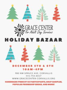 Grace Center Holiday Bazaar @ Grace Center for Adult Day Services
