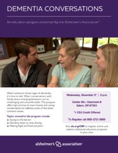 Dementia Conversations @ Center 50+