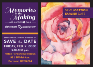 Memories in the Making Art Auction & Gala @ Hilton Portland Downtown