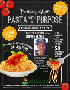 Pasta with a Purpose @ Maple Ridge Senior Living