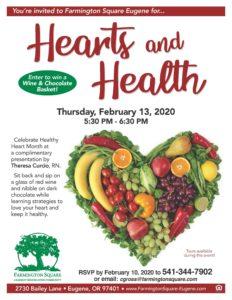 Hearts and Health! @ Farmington Square Eugene