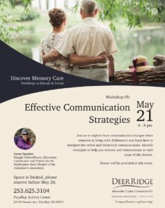 Effective Communication Strategies @ Puyallup Activity Center