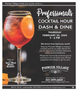 Professionals Cocktail Hour Dash & Dine @ Pioneer Village