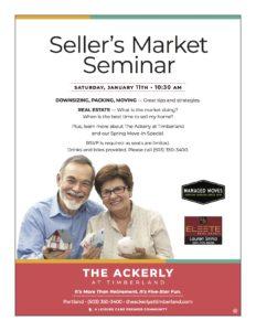 Seller's Market Seminar @ The Ackerly at Timberland
