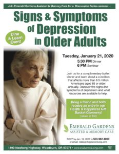 Signs & Symptoms of Depression in Older Adults @ Emerald Gardens