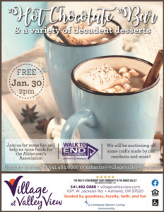 Hot Chocolate Bar & Fundraiser @ Village at Valley View