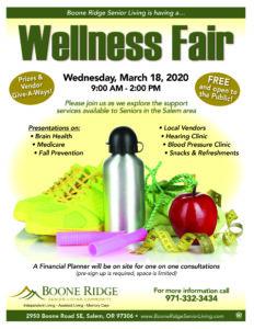 Boone Ridge Wellness Fair @ Boone Ridge Senior Living