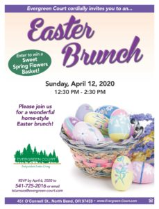 Easter Brunch! @ Evergreen Court