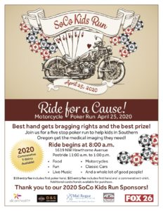 Ride for a Cause! Motorcycle/Poker Run