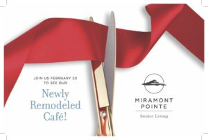 Come See Our Newly Remodeled Café! @ Miramont Pointe