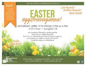 CANCELLED - Easter Eggstravaganza! @ Sweetbriar Villa