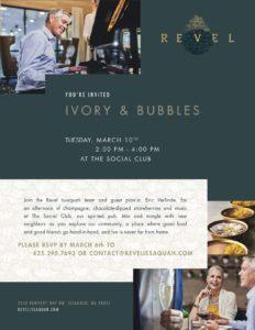 Ivory & Bubbles @ Revel Issaquah, Social Club