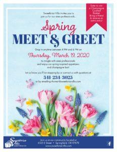 CANCELLED - Spring Meet & Greet at Sweetbriar Villa @ Sweetbriar Villa