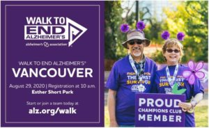 Walk to End Alzheimer's Vancouver @ Esther Short Park