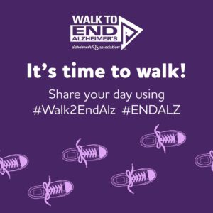 Walk to End Alzheimer's Greater Salem @ In your neighborhood
