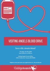 Blood Drive @ Visiting Angels Tacoma Office