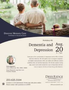Dementia and Depression @ Puyallup Activity Center