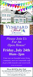 Open to the Public @ Vineyard Park of Puyallup
