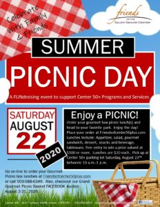 Summer Picnic Day @ Center 50+