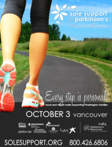 Sole Support Walk for Parkinson's Disease - Vancouver @ Vancouver Mall upper parking lot (by JCPenney)