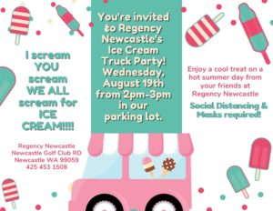Ice Cream Truck Party @ Regency Newcastle