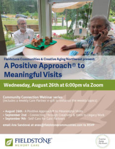 A Positive Approach to Meaningful Visits @ On ZOOM