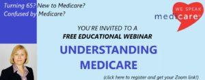 Understanding Medicare Webinar @ ONLINE (with Elena Houle Medicare Solutions)