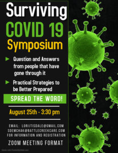 Surviving Covid-19 Symposium @ Zoom