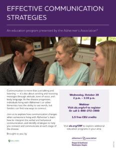 Effective Communication Strategies @ Webinar