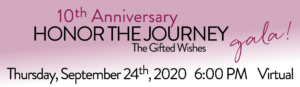 Honor the Journey Gala 2020 @ Virtual